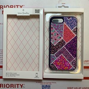 Vera Bradley IPhone 7/8 quilted fashion case